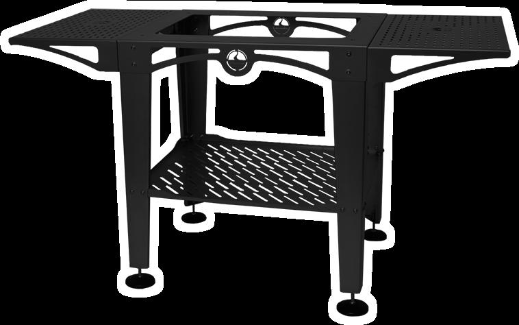 Awsom Ovens Wood Fire Ovens Stand Black 2